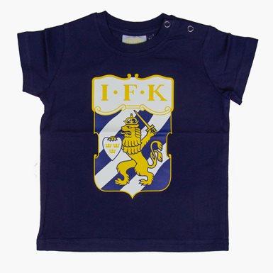 Baby T-Shirt Klubbmärke Färg Marin